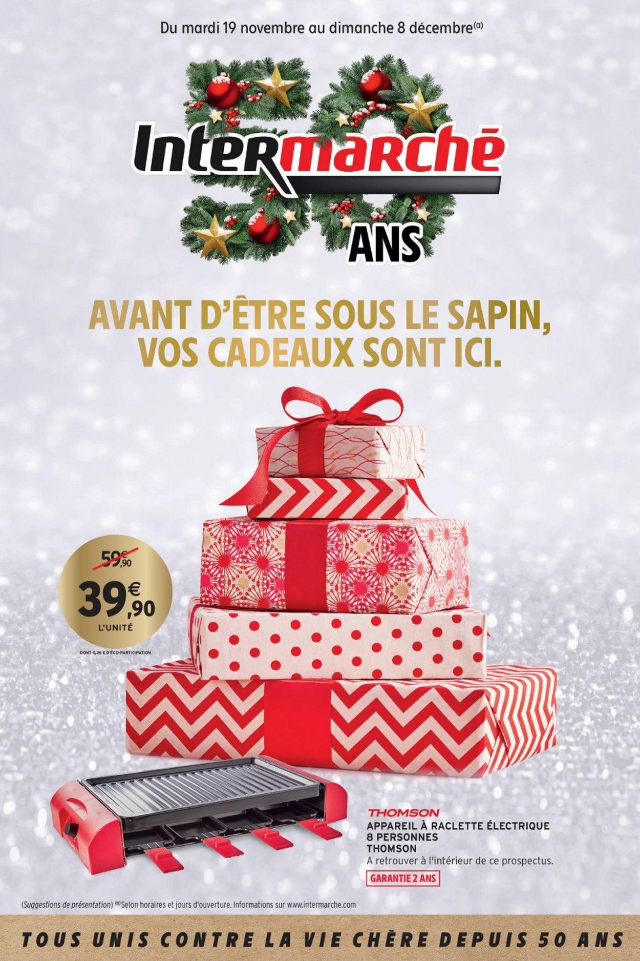 Intermarché catalogue de Noël 2019 Catalogue - 19.11-08.12.2019