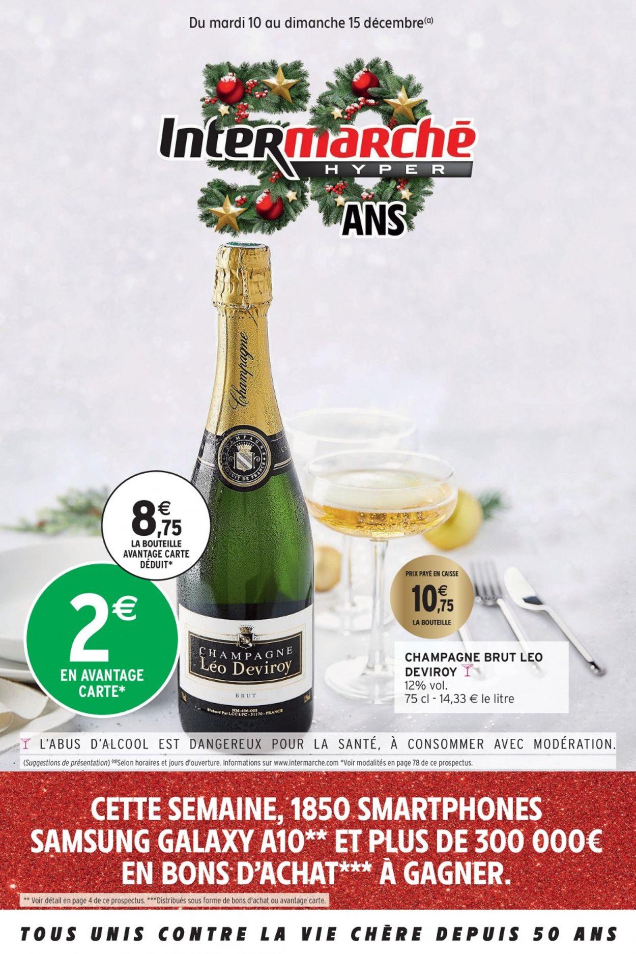 Intermarché catalogue de Noël 2019 Catalogue - 10.12-15.12.2019