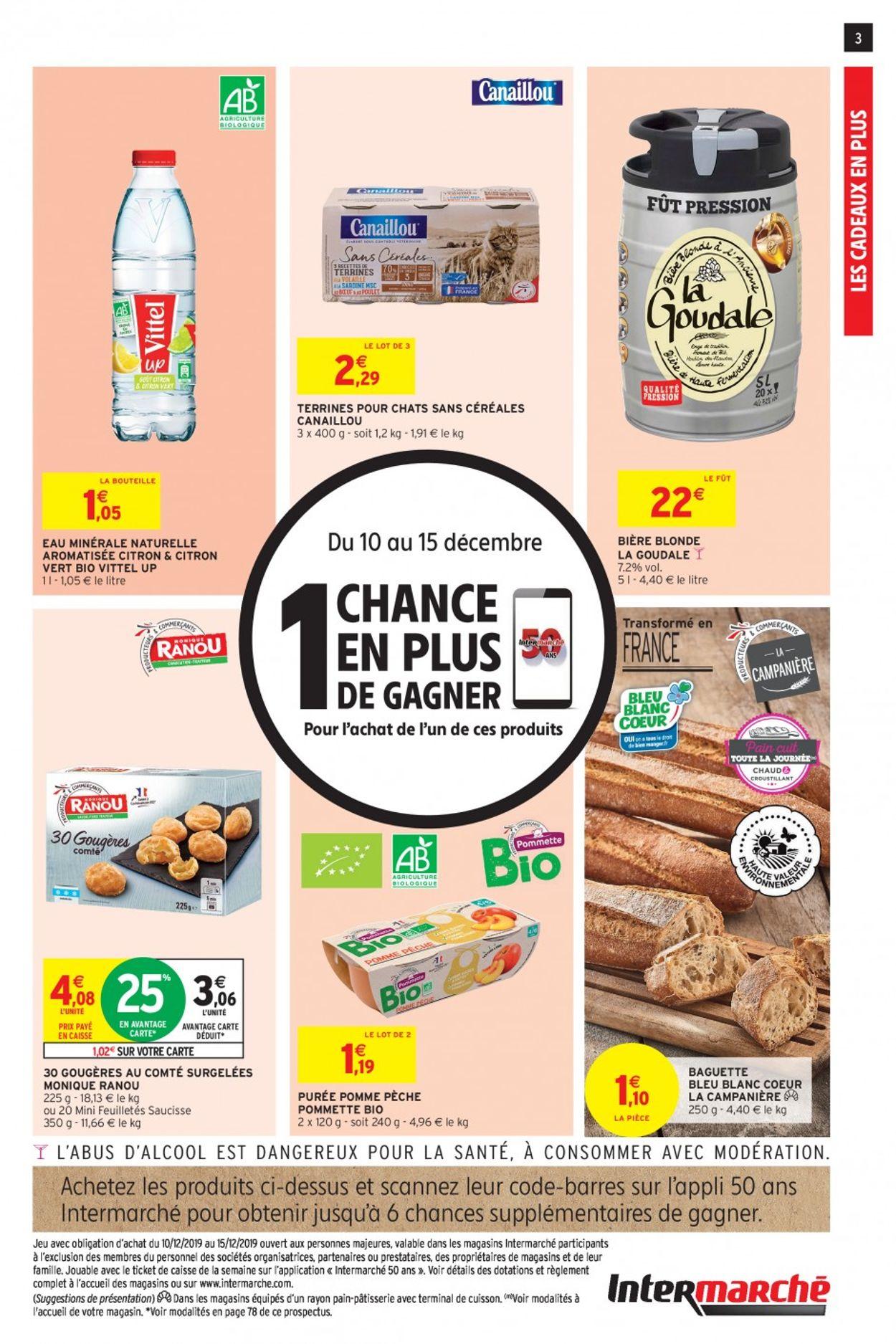 Intermarché catalogue de Noël 2019 Catalogue - 10.12-15.12.2019 (Page 3)