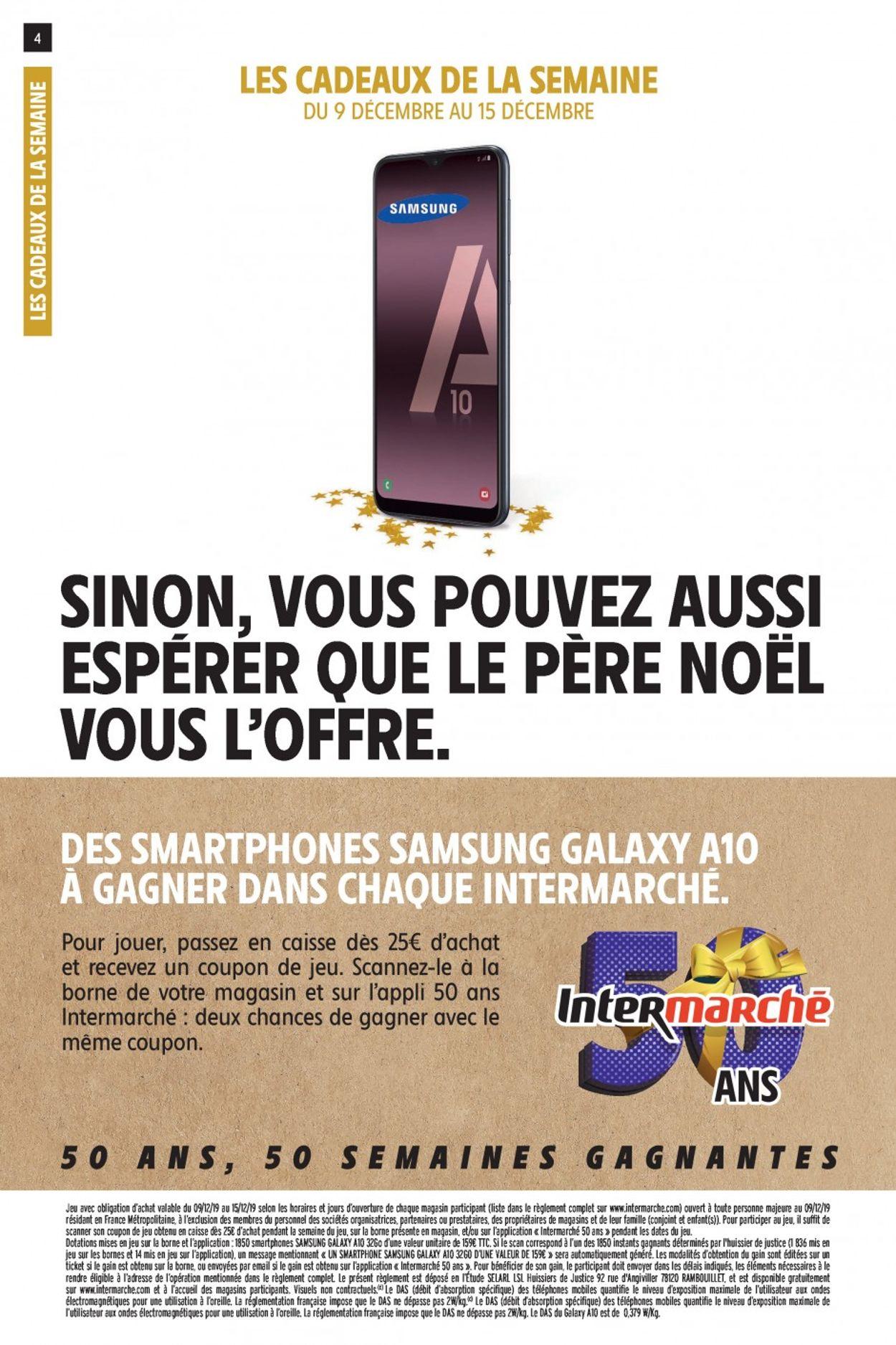 Intermarché catalogue de Noël 2019 Catalogue - 10.12-15.12.2019 (Page 4)