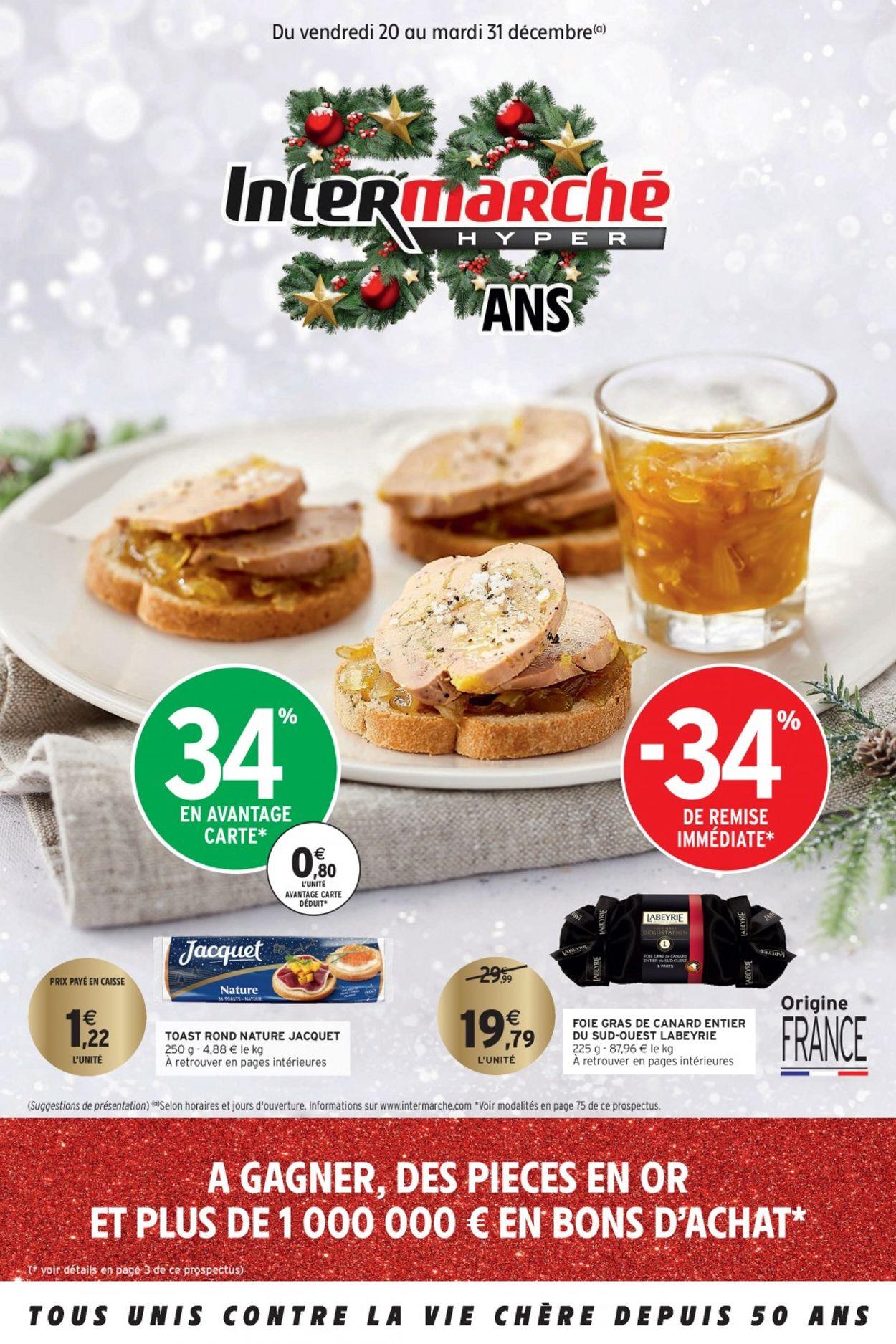 Intermarché catalogue de Noël 2019 Catalogue - 20.12-31.12.2019