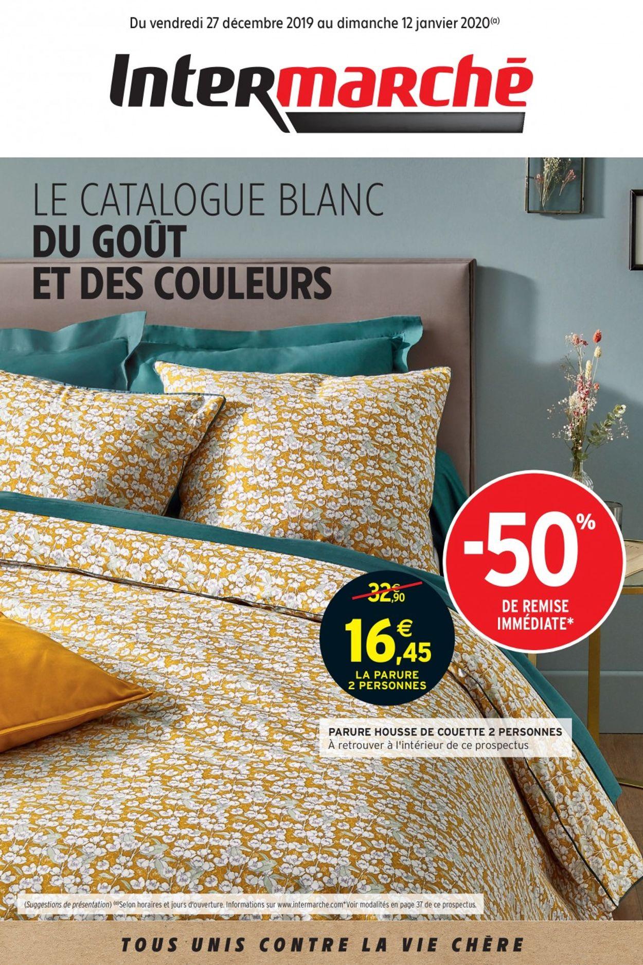 Intermarché Catalogue - 27.12-12.01.2020