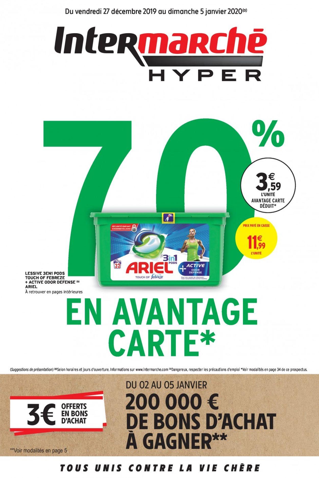 Intermarché Catalogue - 27.12-05.01.2020