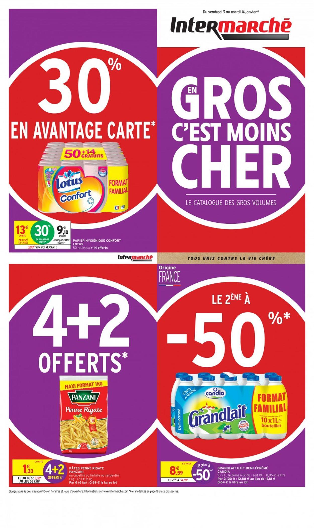 Intermarché Catalogue - 03.01-14.01.2020