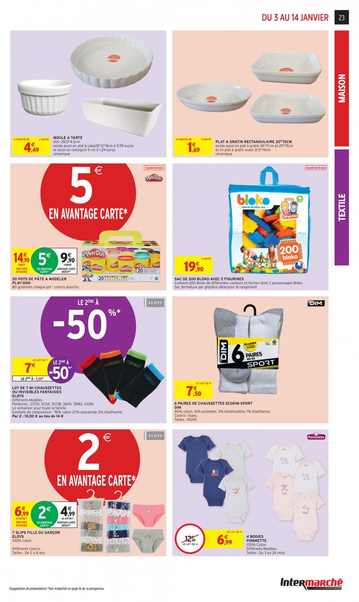 Intermarché Catalogue - 03.01-14.01.2020 (Page 23)