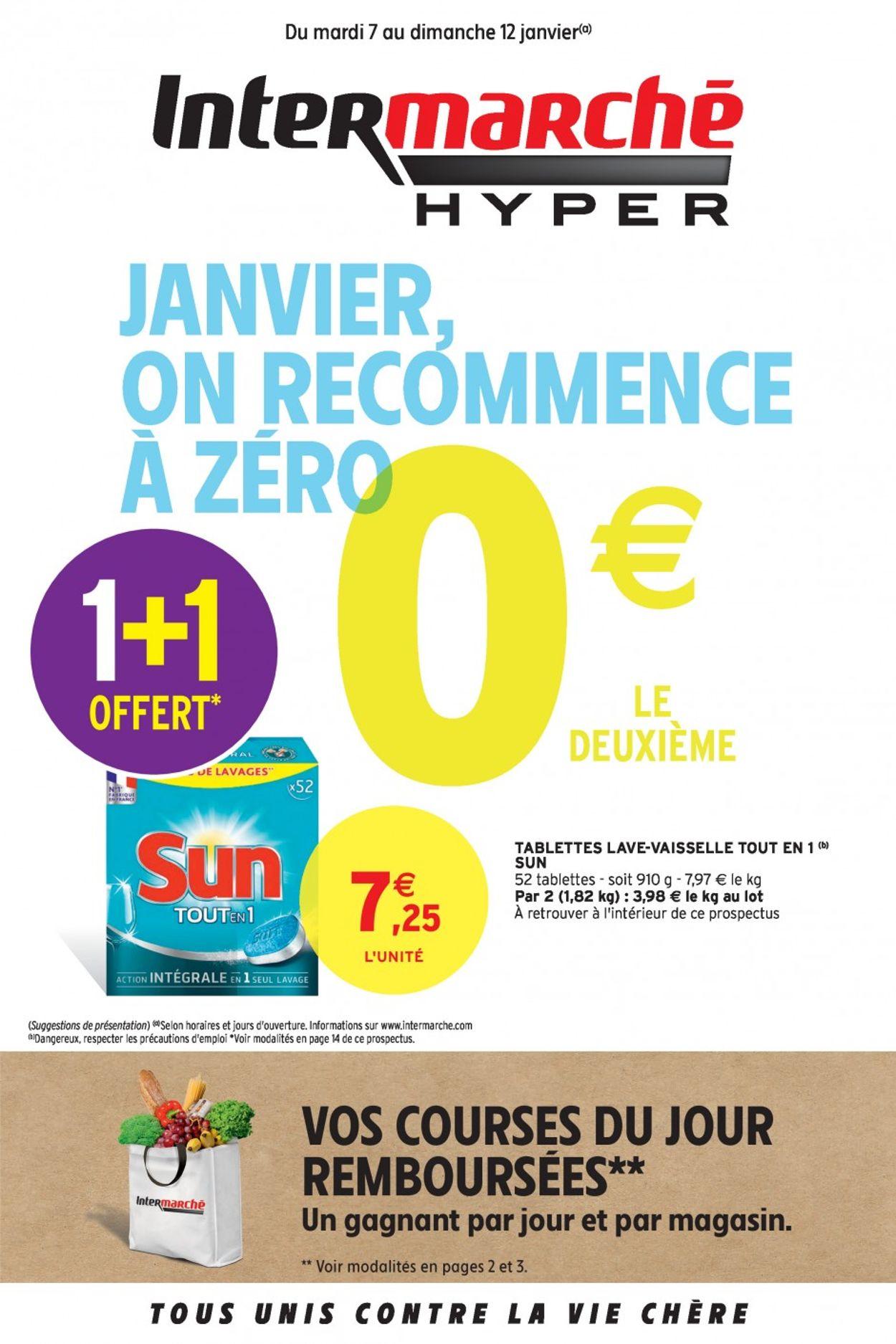 Intermarché Catalogue - 07.01-12.01.2020