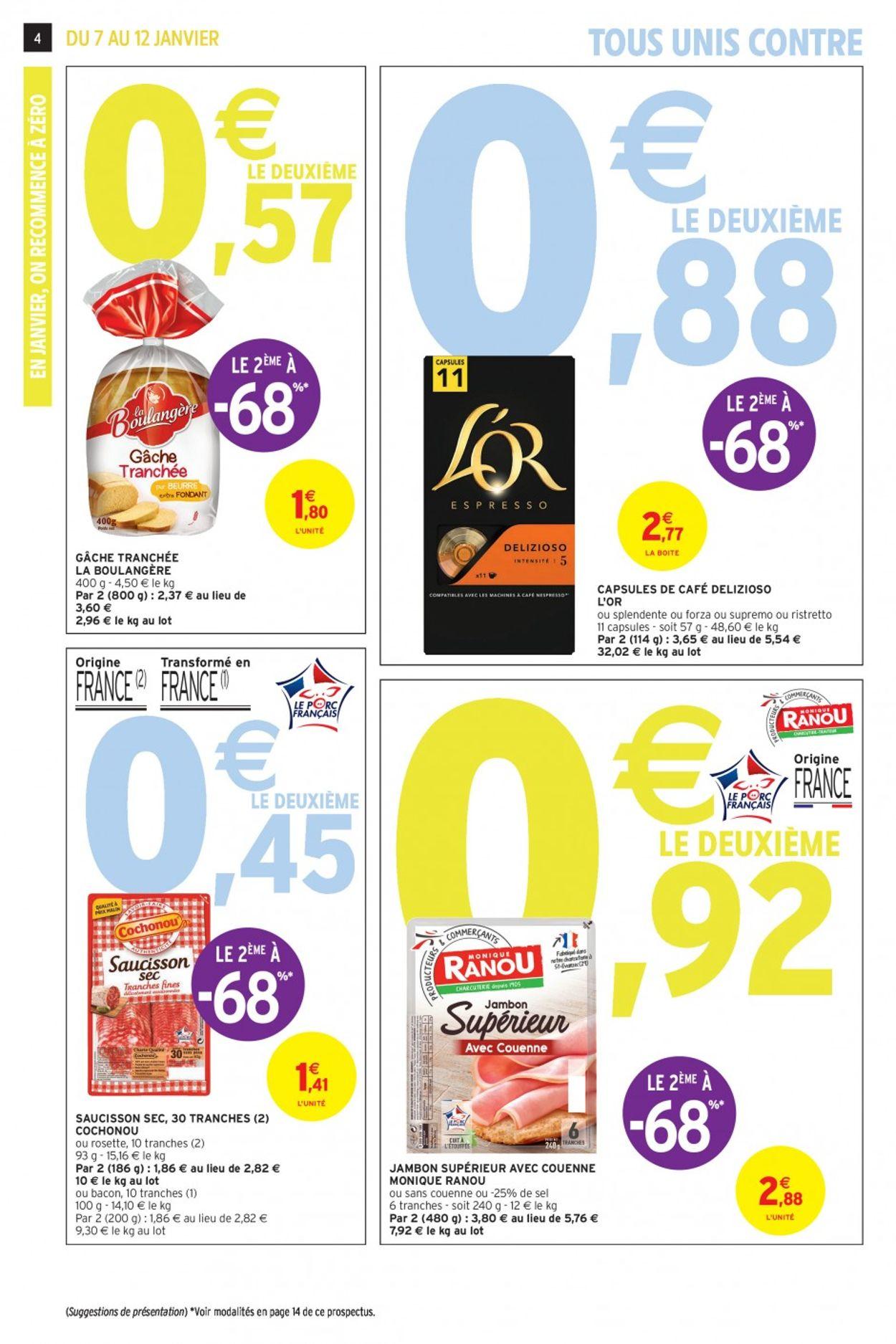 Intermarché Catalogue - 07.01-12.01.2020 (Page 4)