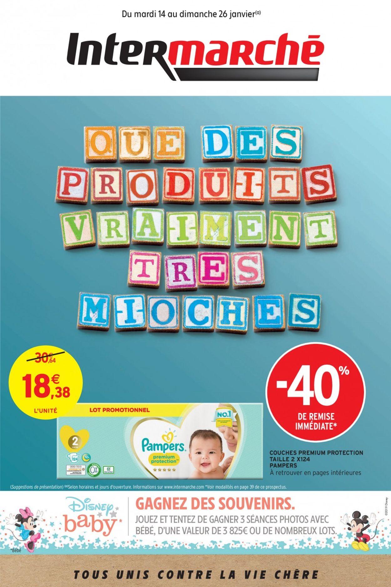 Intermarché Catalogue - 14.01-26.01.2020