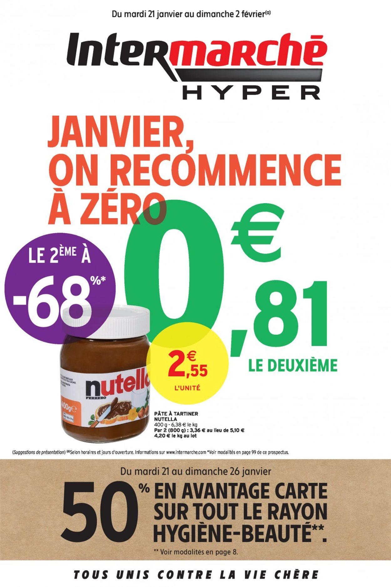 Intermarché Catalogue - 21.01-02.02.2020