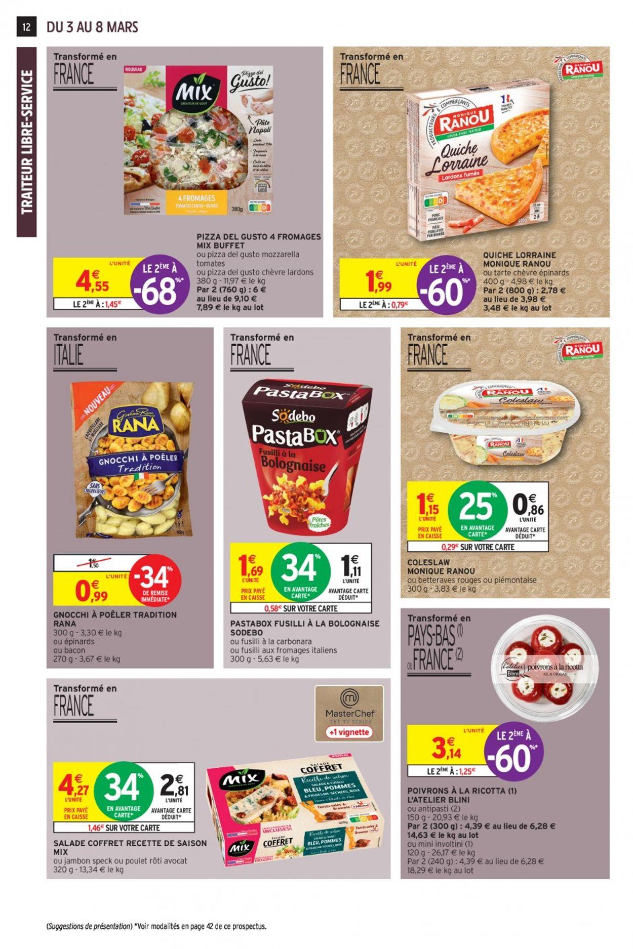 Intermarché Catalogue - 03.03-08.03.2020 (Page 12)