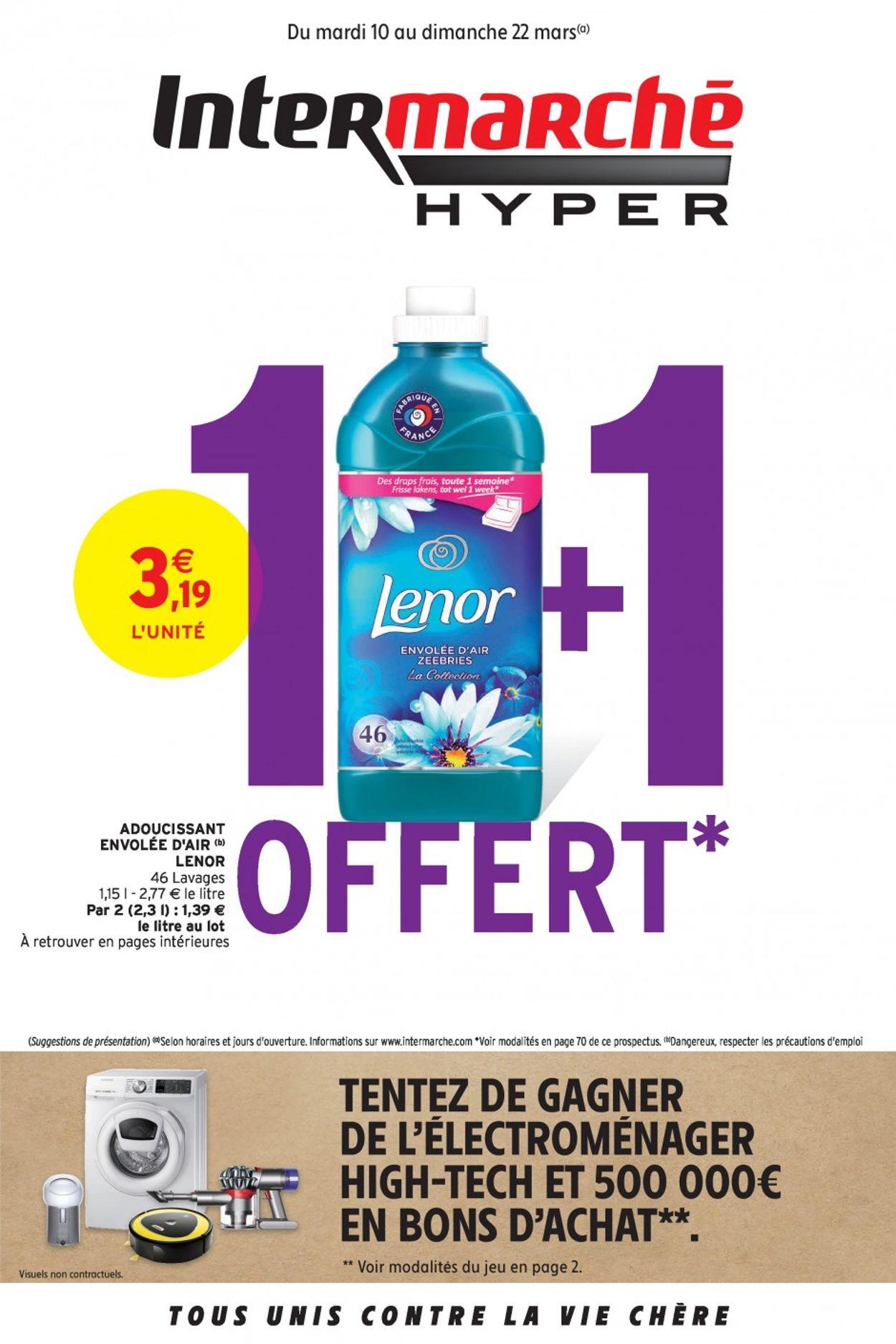 Intermarché Catalogue - 10.03-22.03.2020