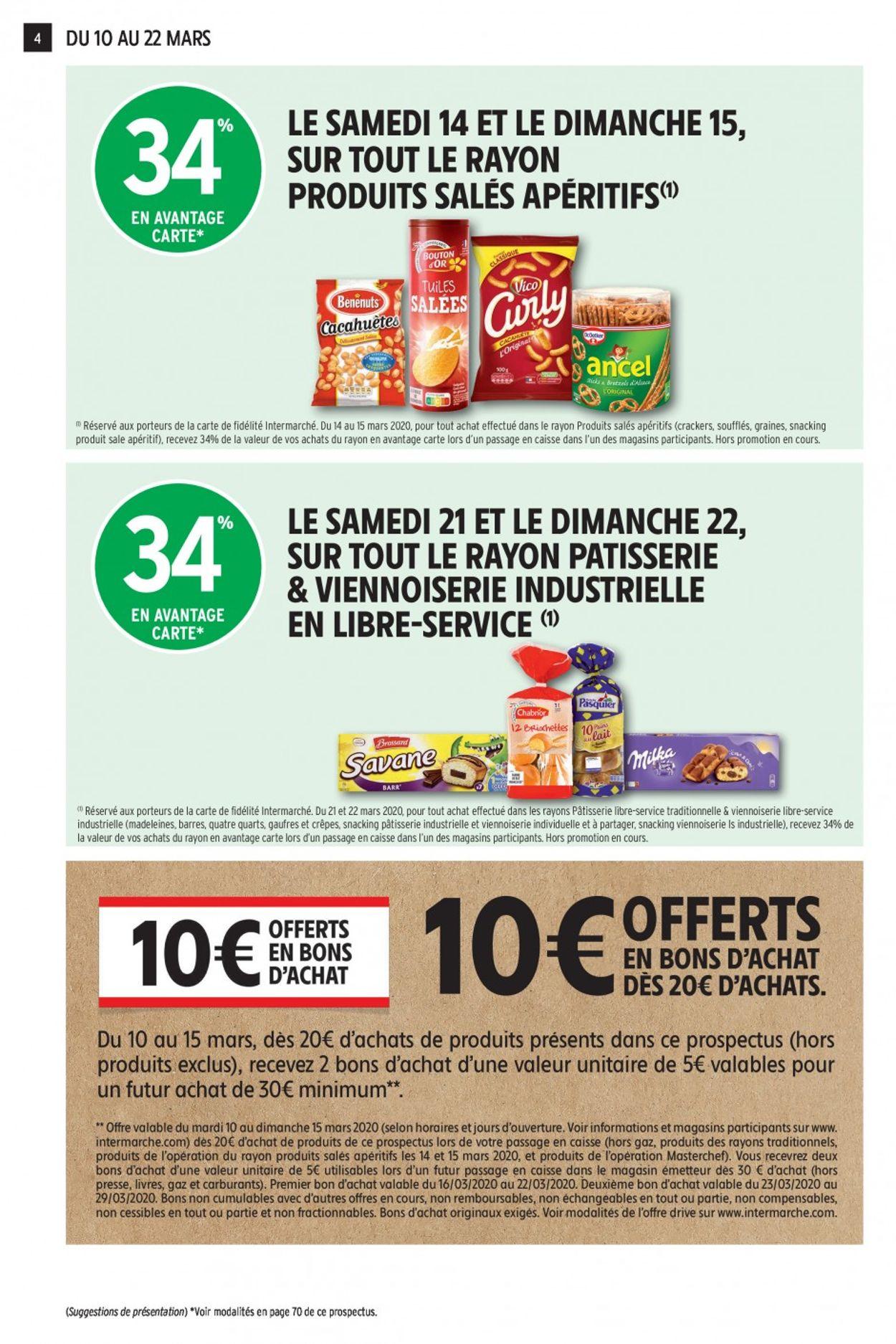 Intermarché Catalogue - 10.03-22.03.2020 (Page 4)