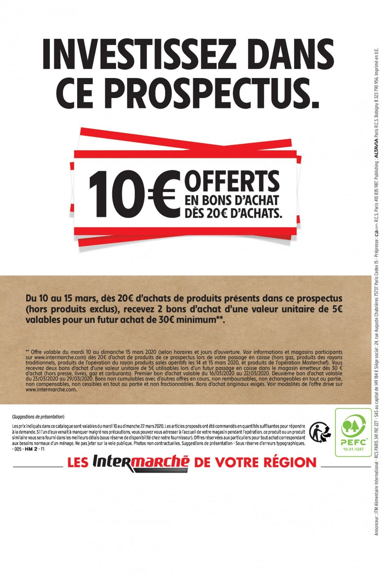 Intermarché Catalogue - 10.03-22.03.2020 (Page 89)