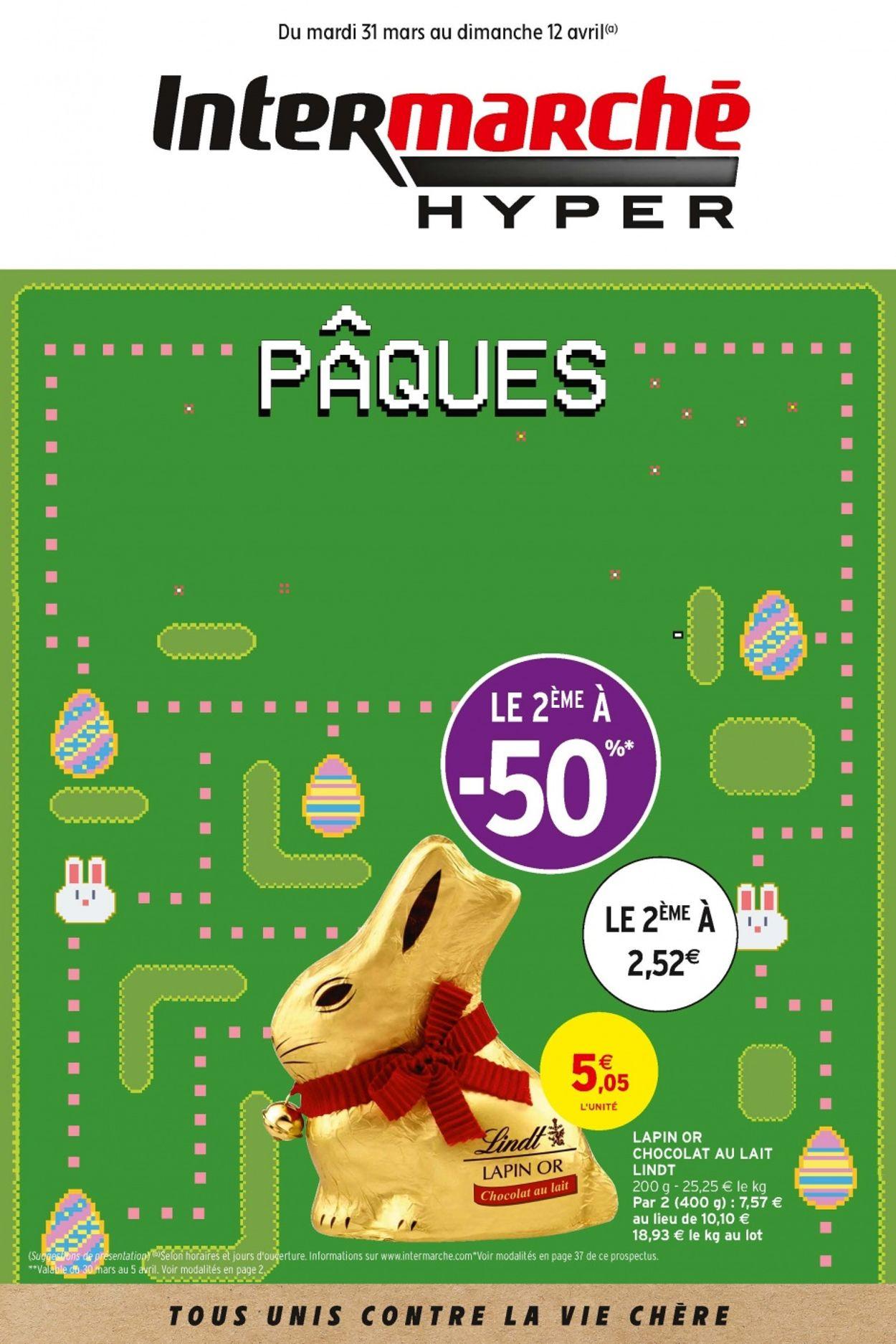 Intermarché Catalogue - 31.03-12.04.2020