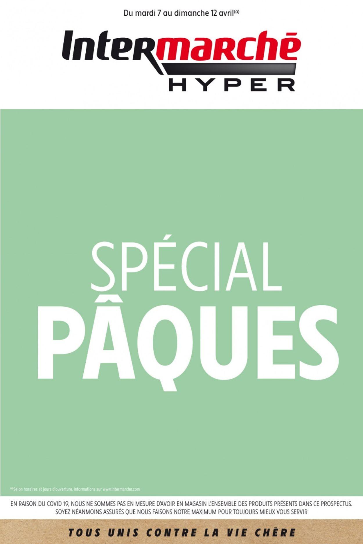 Intermarché Catalogue - 07.04-12.04.2020