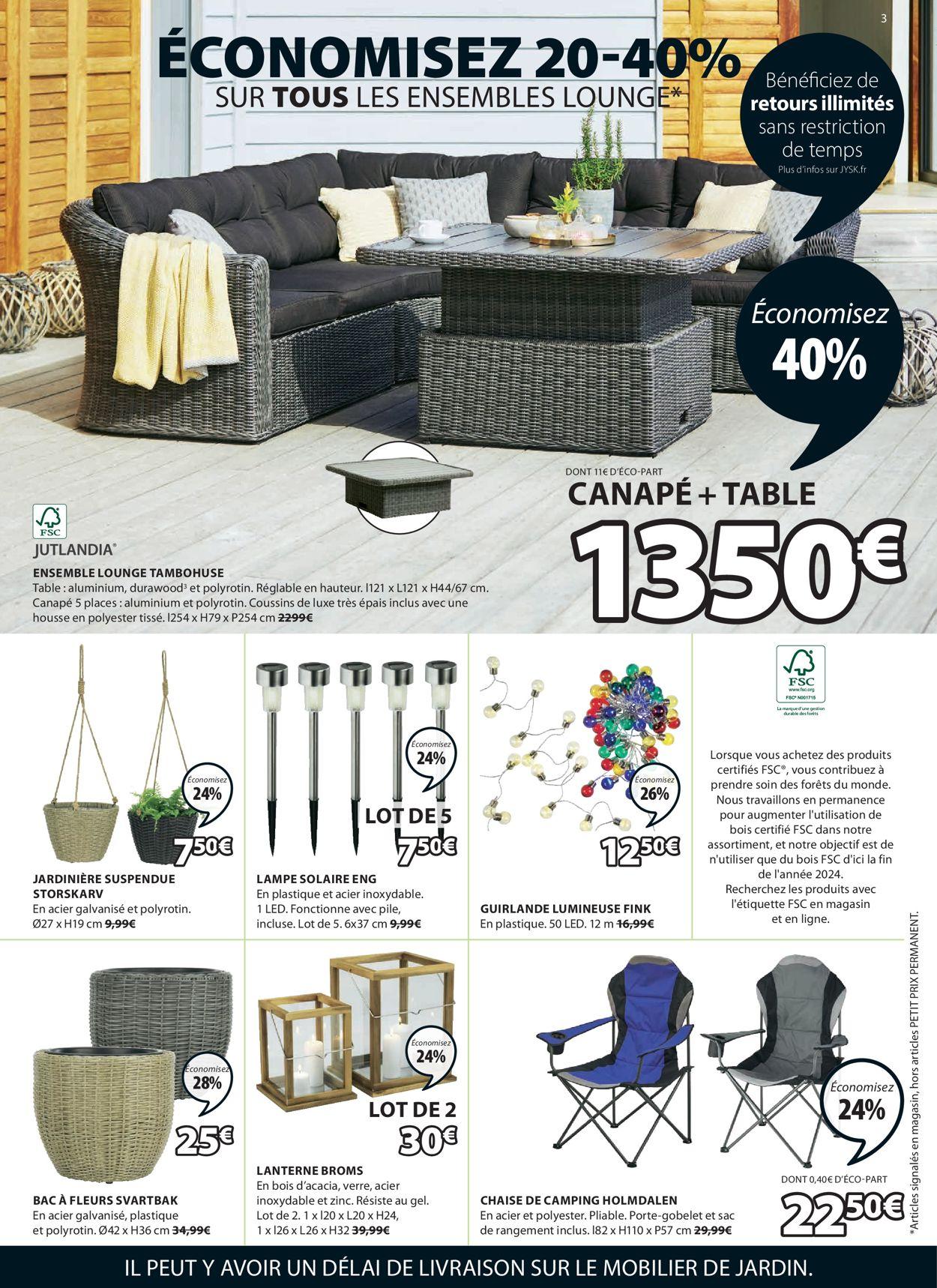 JYSK Catalogue - 15.06-21.06.2021 (Page 3)