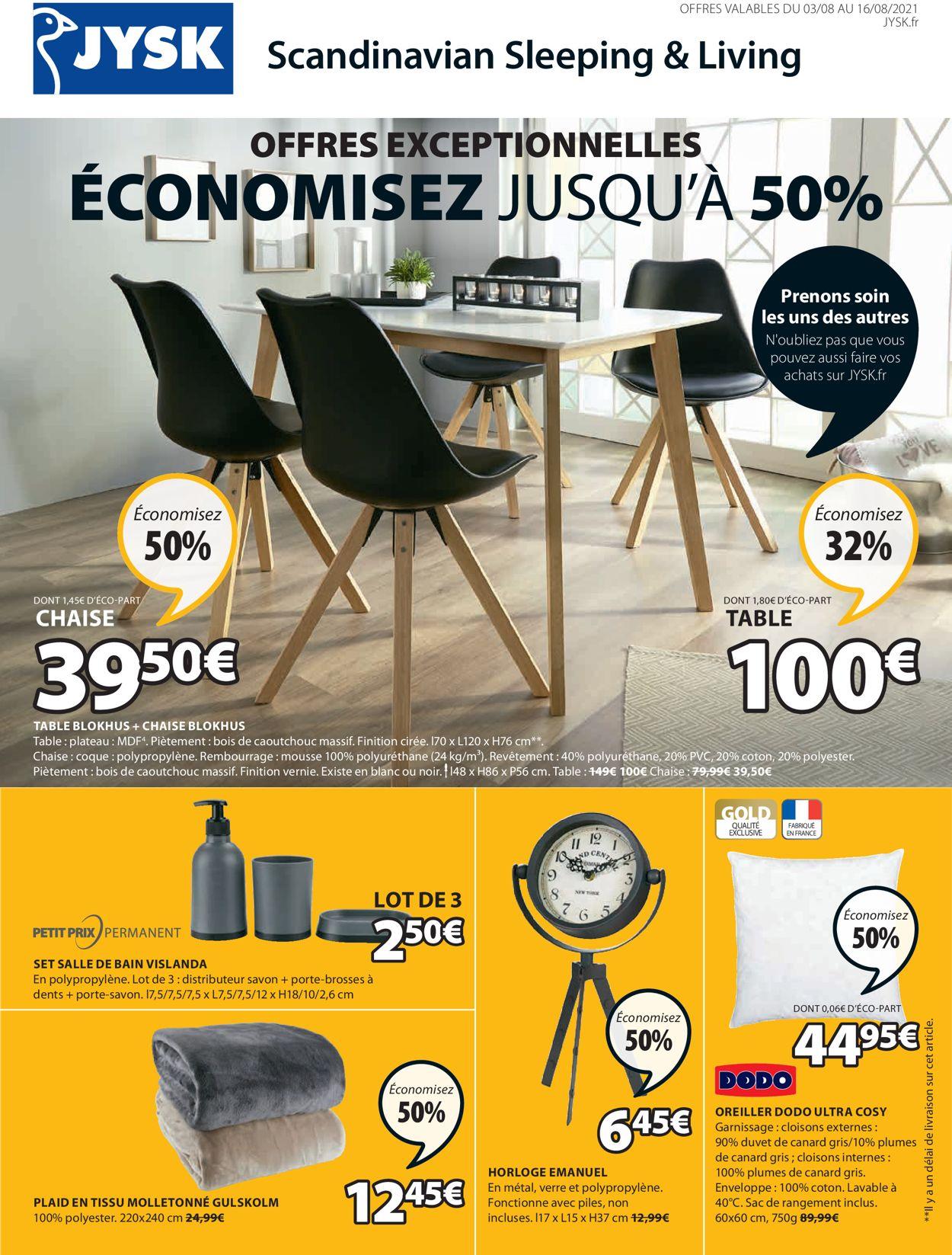JYSK Catalogue - 03.08-16.08.2021