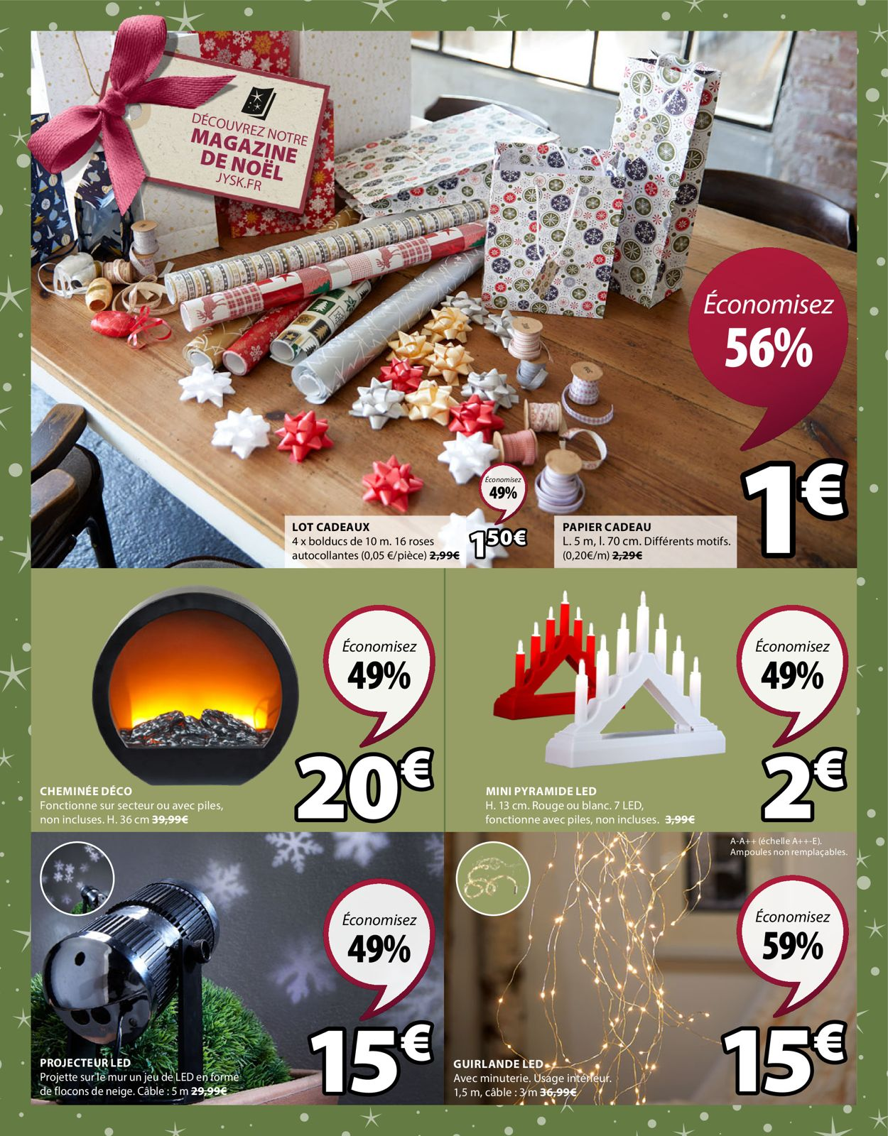 JYSK catalogue de Noël 2019 Catalogue - 10.12-16.12.2019 (Page 4)