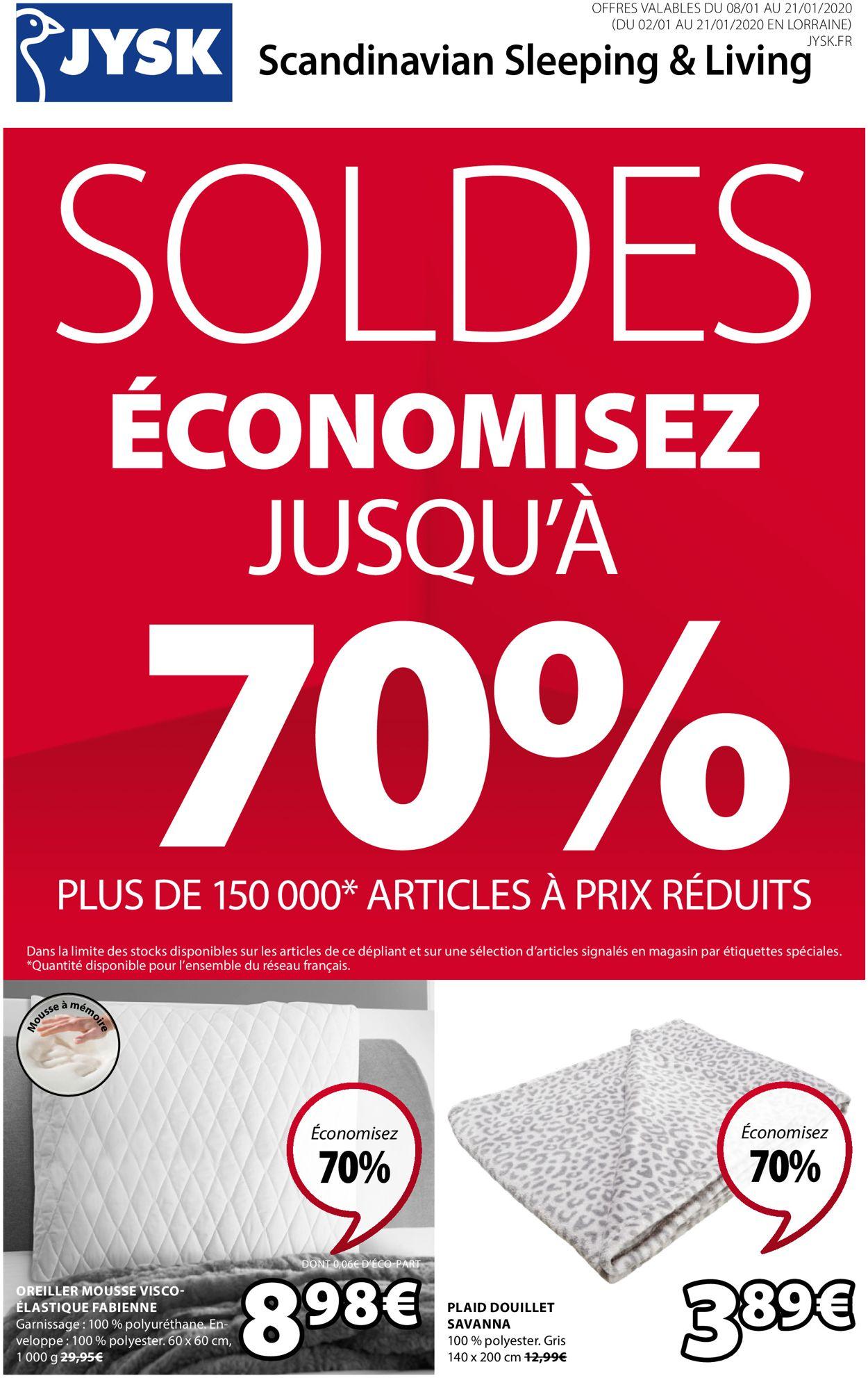 JYSK Catalogue - 08.01-21.01.2020
