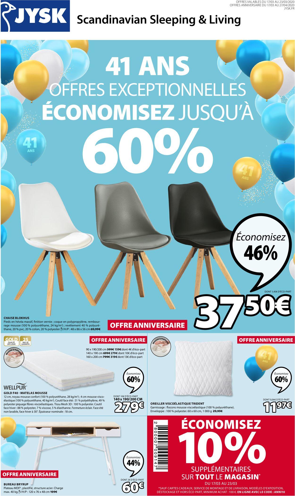 JYSK Catalogue - 17.03-27.04.2020