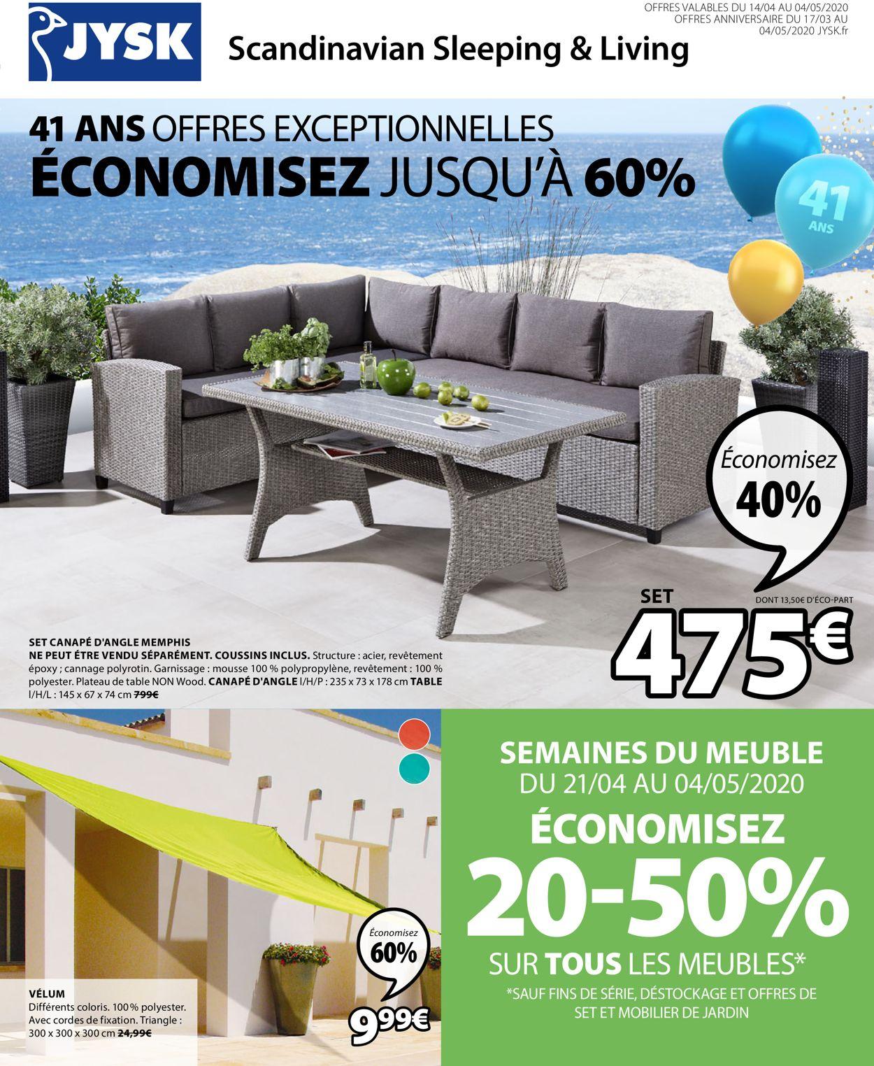 JYSK Catalogue - 14.04-04.05.2020
