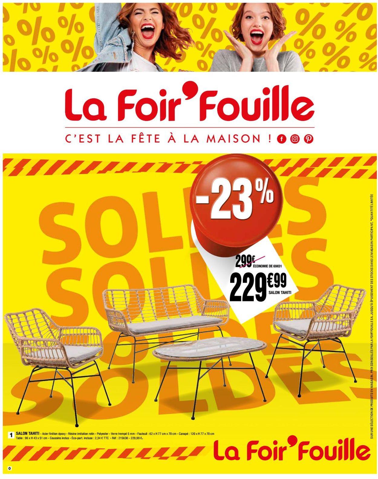 La Foir'Fouille Catalogue - 15.07-26.07.2020