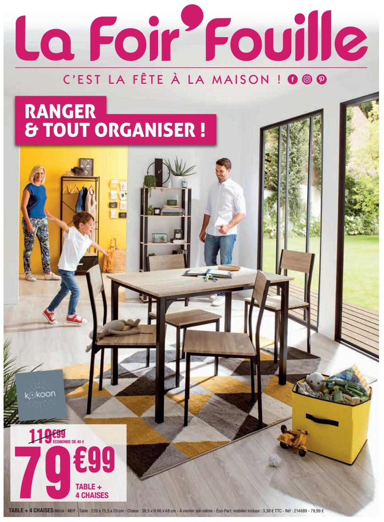 La Foir'Fouille Catalogue - 27.07-31.08.2020