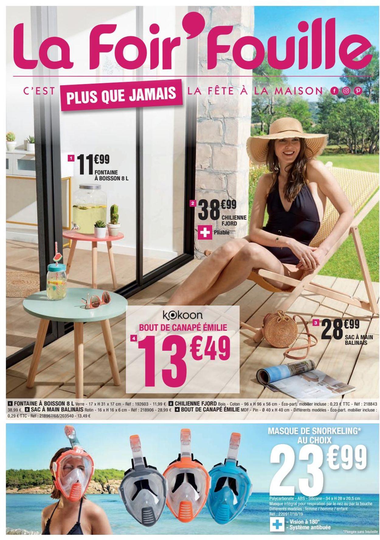 La Foir'Fouille Catalogue - 10.08-22.08.2020