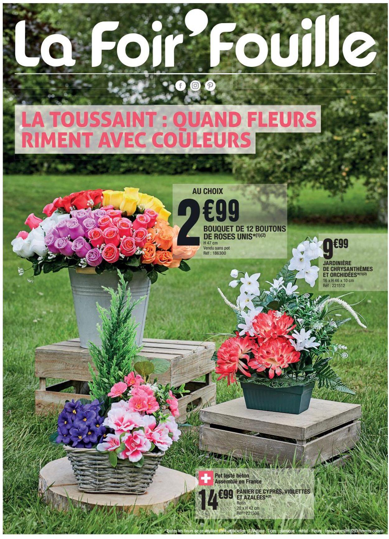 La Foir'Fouille Catalogue - 21.09-27.09.2020