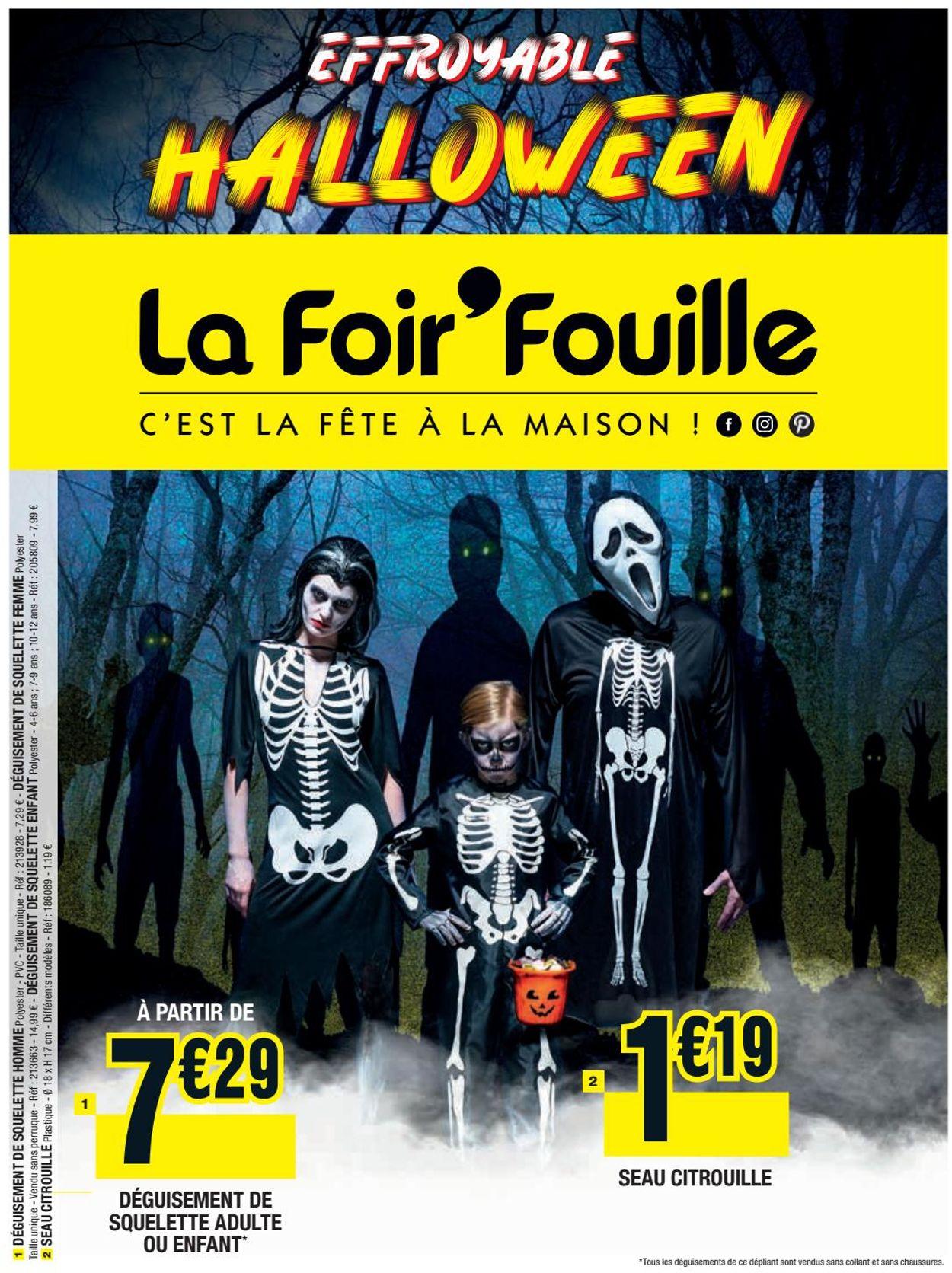 La Foir'Fouille Catalogue - 29.09-31.10.2020