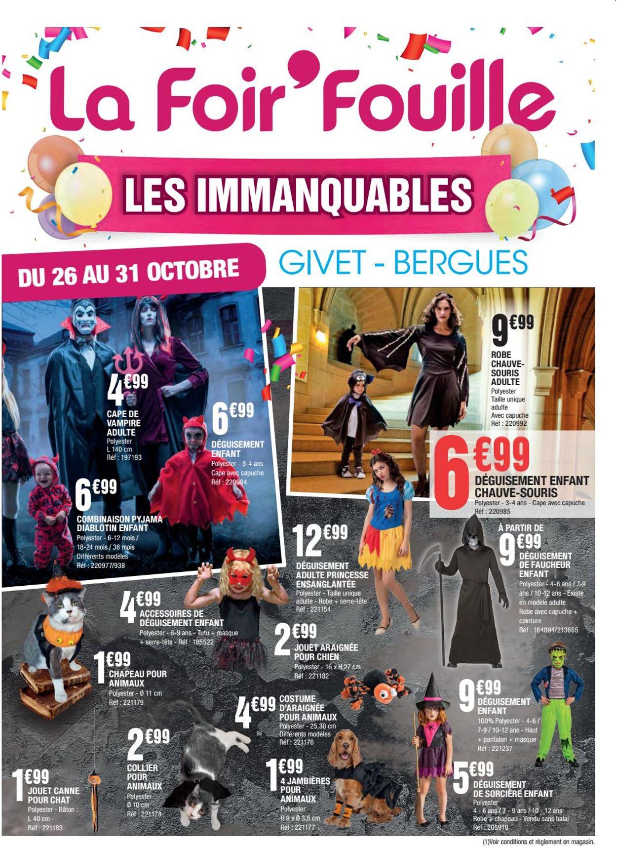 La Foir'Fouille Catalogue - 26.10-31.10.2020