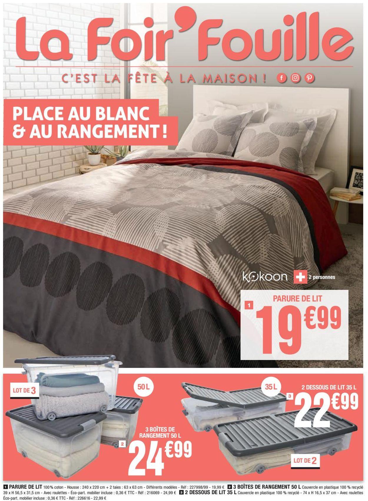 La Foir'Fouille Catalogue - 22.01-01.02.2021