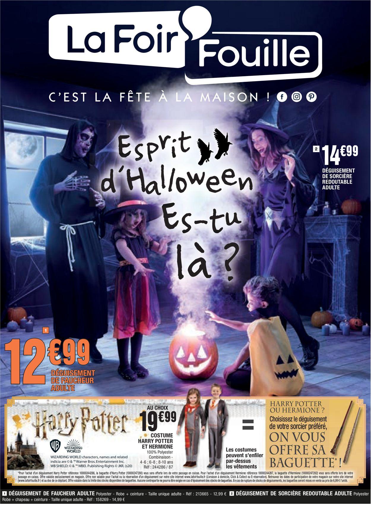 La Foir'Fouille Catalogue - 04.10-31.10.2021