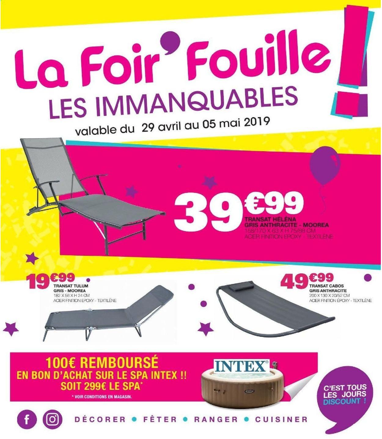 La Foir'Fouille Catalogue - 29.04-05.05.2019