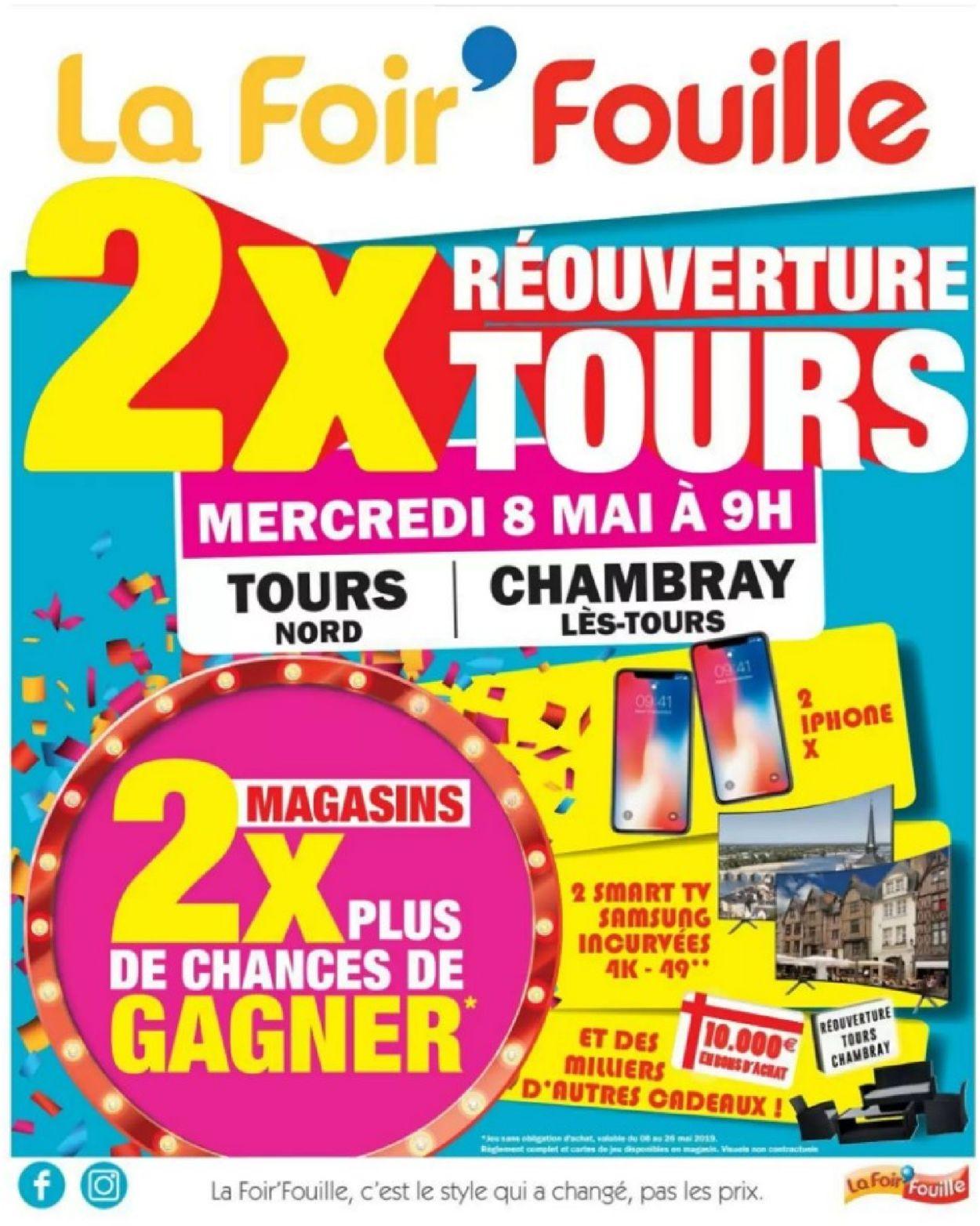La Foir'Fouille Catalogue - 08.05-19.05.2019