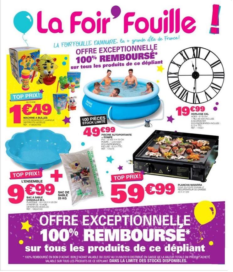 La Foir'Fouille Catalogue - 09.07-15.07.2019