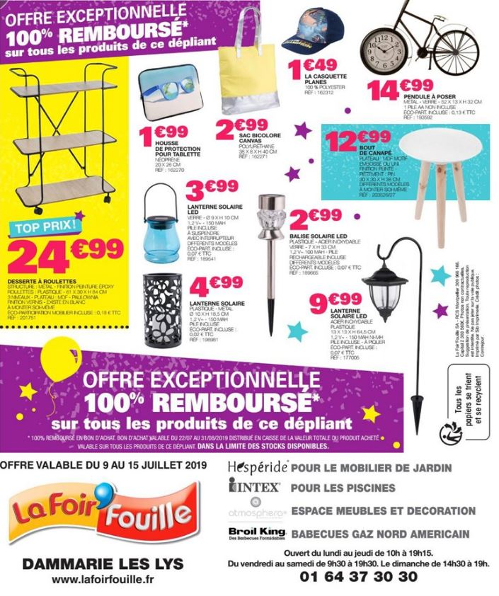 La Foir'Fouille Catalogue - 09.07-15.07.2019 (Page 4)