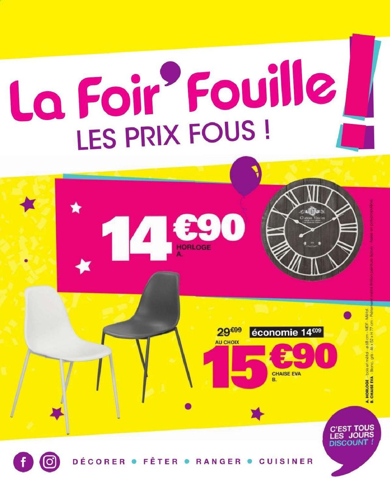 La Foir'Fouille Catalogue - 01.08-17.08.2019