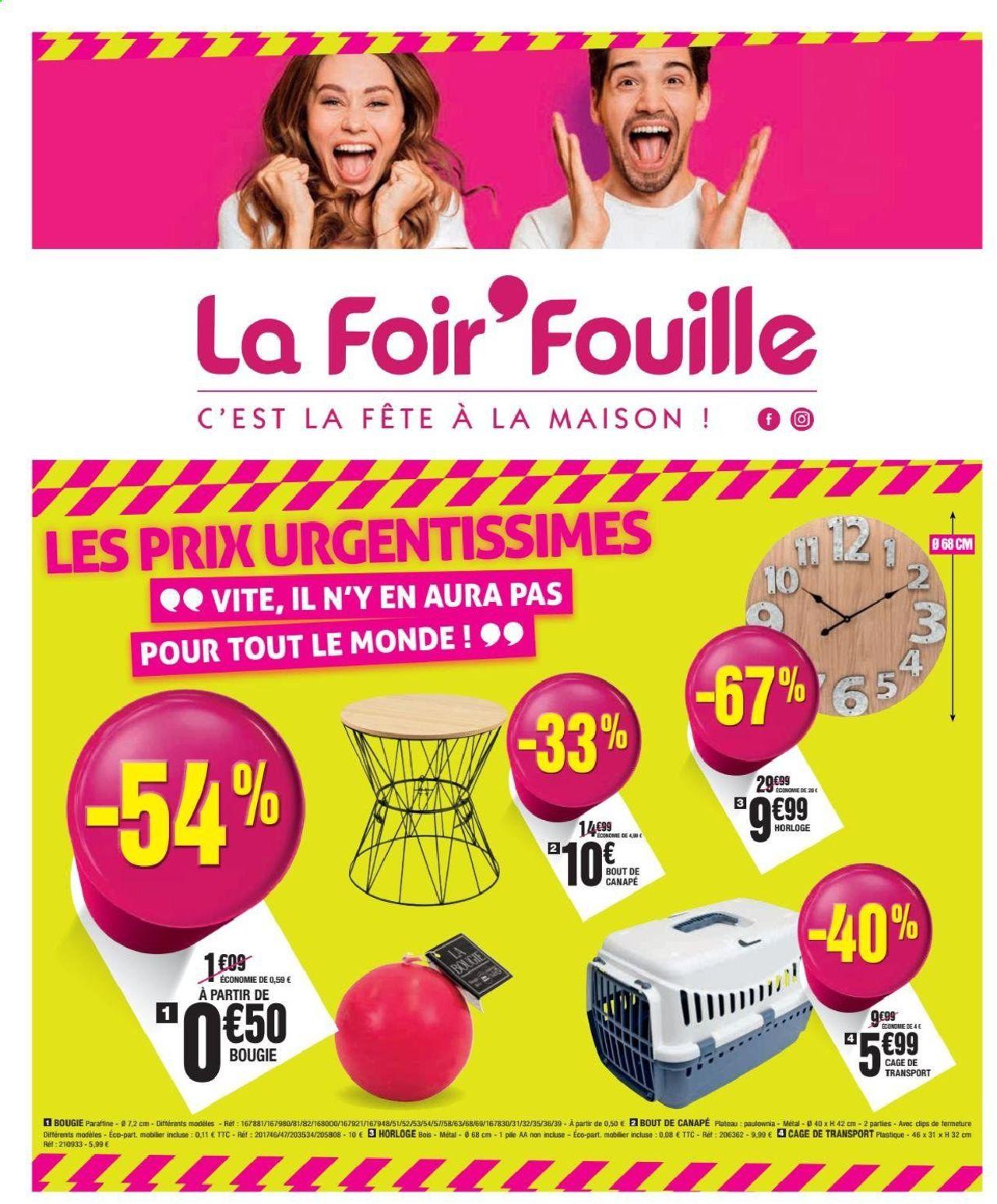 La Foir'Fouille Catalogue - 09.09-15.09.2019