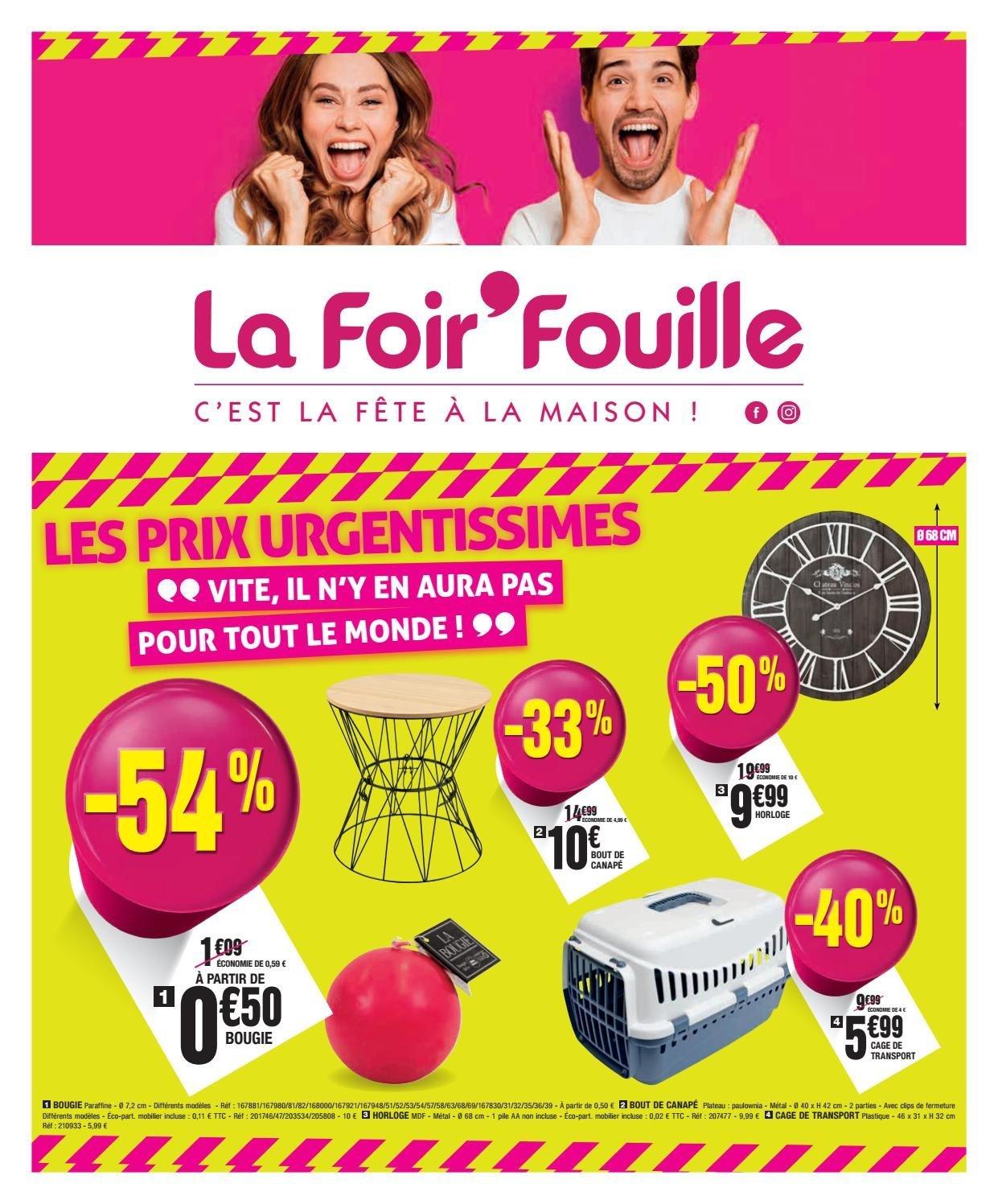 La Foir'Fouille Catalogue - 09.09-22.09.2019