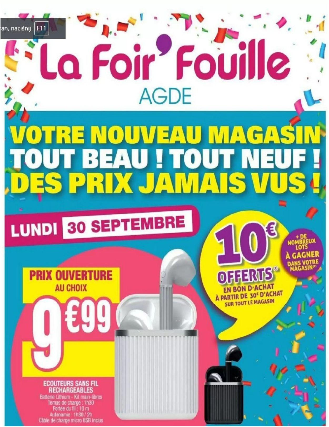 La Foir'Fouille Catalogue - 30.09-06.10.2019