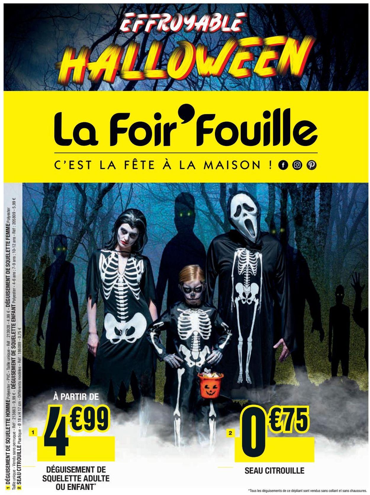 La Foir'Fouille Catalogue - 01.10-31.10.2019