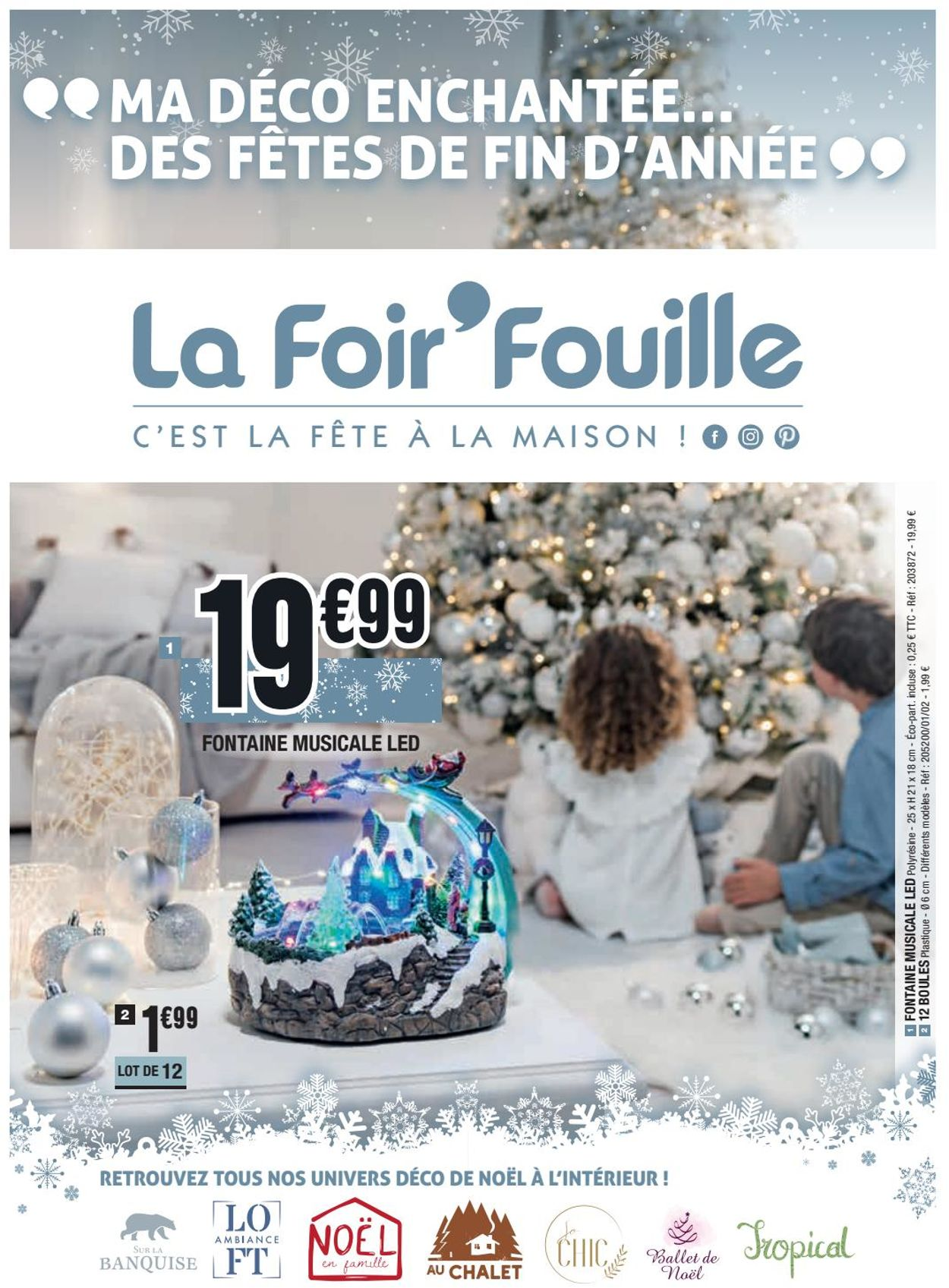 La Foir'Fouille catalogue de Noël 2019 Catalogue - 18.11-24.11.2019
