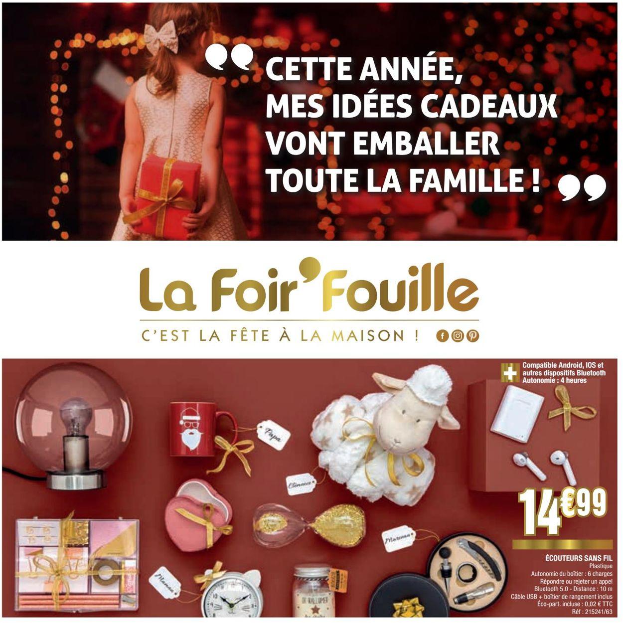 La Foir'Fouille catalogue de Noël 2019 Catalogue - 25.11-02.12.2019