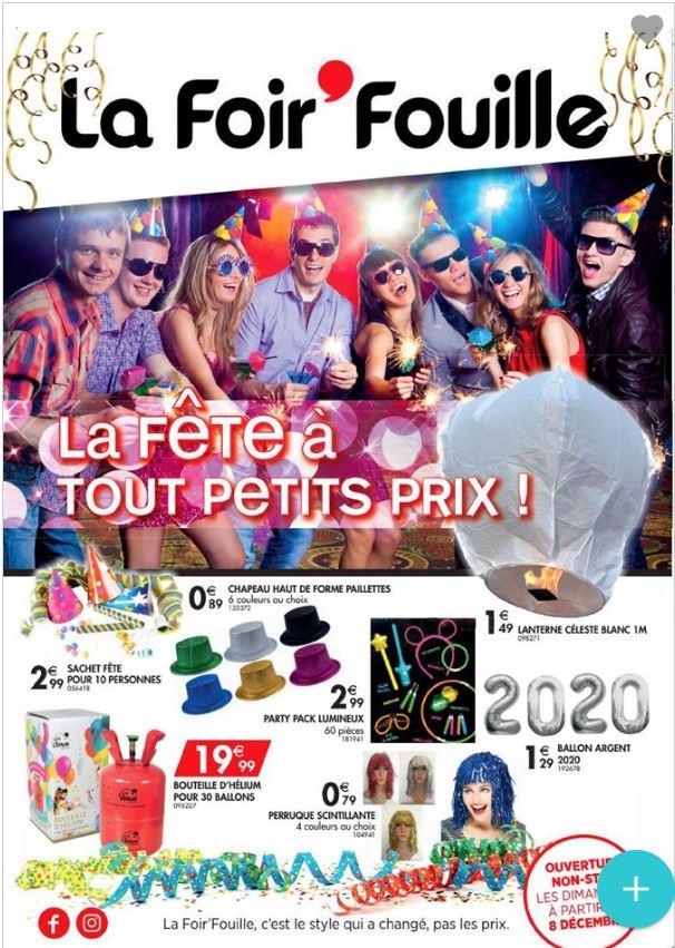La Foir'Fouille - Prospectus du Nouvel An Catalogue - 27.12-31.12.2019