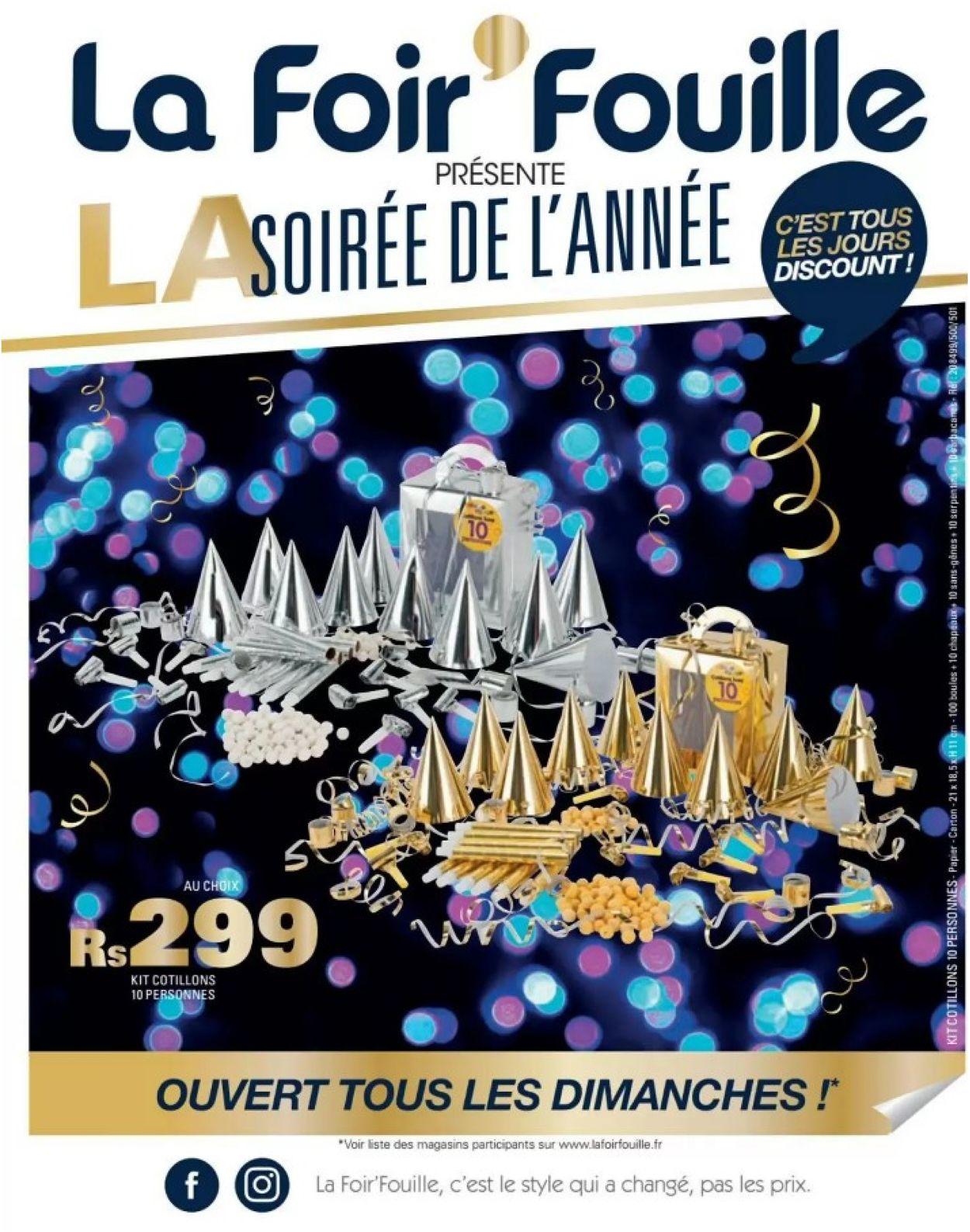 La Foir'Fouille Catalogue - 26.12-03.01.2020
