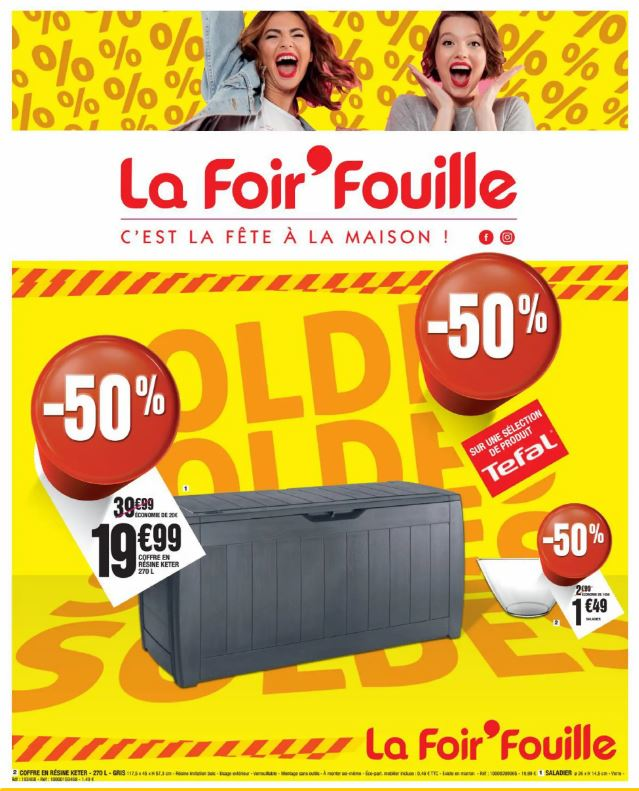 La Foir'Fouille Catalogue - 08.01-19.01.2020