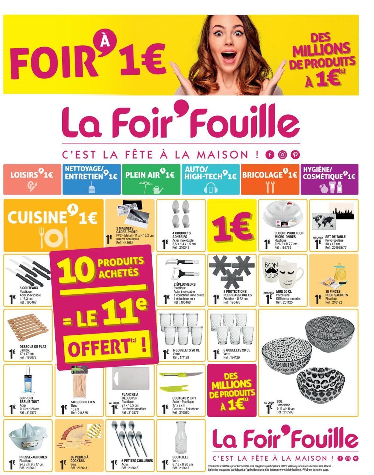 La Foir'Fouille Catalogue - 20.01-26.01.2020