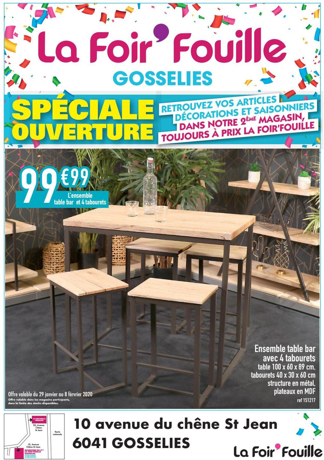 La Foir'Fouille Catalogue - 29.01-08.02.2020