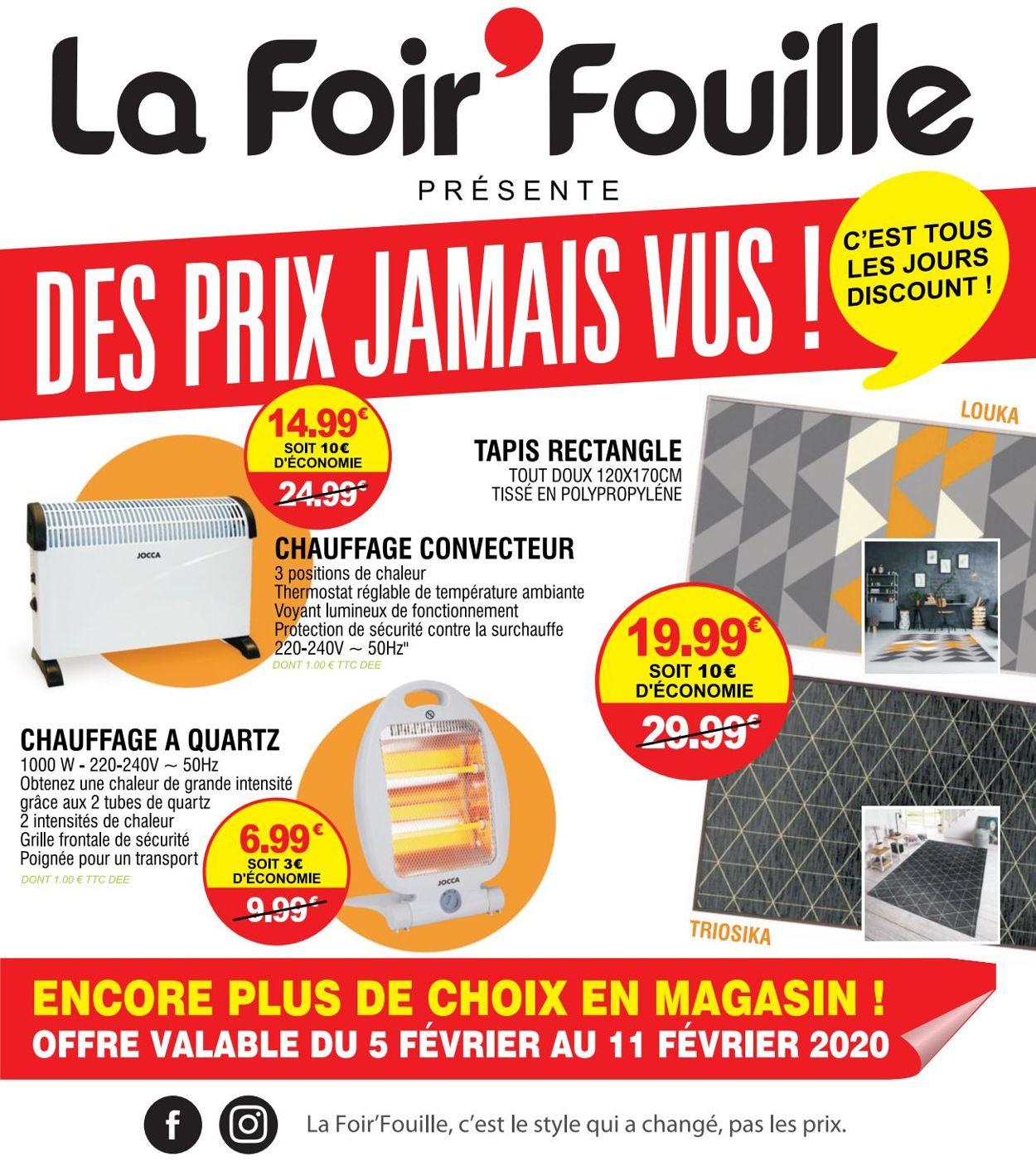 La Foir'Fouille Catalogue - 05.02-11.02.2020